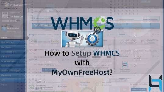 How to Setup WHMCS with MyOwnFreeHost