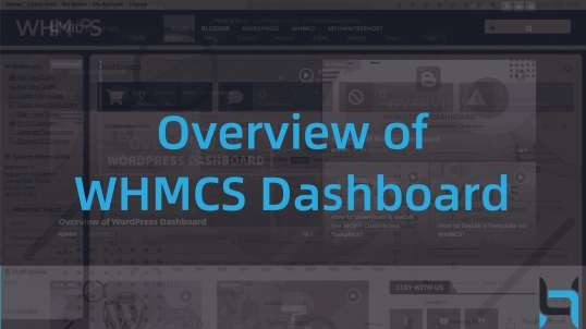 Overview of WHMCS Dashboard